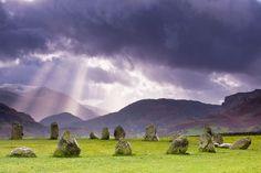 Castlerigg Stone Circle, Keswick, Cumbria, England