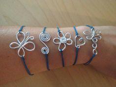 Polseres filferro. Pulseras alambre. Wire Bracelets.