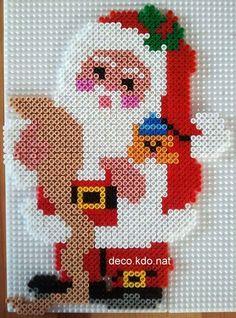Christmas Santa Wish List hama perler beads by Deco.Kdo.Nat: