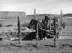 Farmers near Moab. Date unknown. (Photo courtesy Utah State Historical Society)