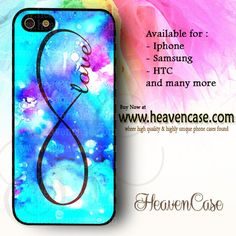 Infinity Love Light Blue available For Iphone 4/4s/5/5s/5c case , Samsung Galaxy S3/S4/S5/S3 mini/S4 Mini/Note 2/Note 3 case , HTC One X , HTC One M7 case , HTC One M8 case and many more , check our website www.heavencase.com