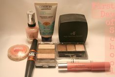 Back to School Week: First Day of School Makeup