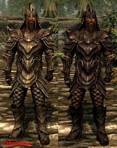 skyrim orcish armor for our Orc friends.