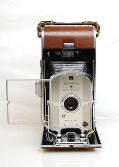 Vintage 1950s Polarioid 95A Film Camera with by TreasureTroveDepot, $35.00