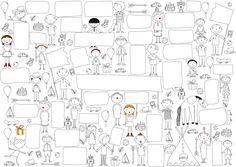 Affiche Anniversaire - A télécharger, à imprimer et à compléter : Affiches, illustrations, posters par rgb