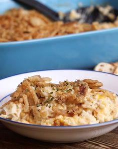 French Onion Chicken & Rice Casserole
