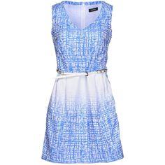 Byblos Short Dress ($175) ❤ liked on Polyvore