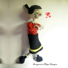 Crochet Pattern Popeye Doll : Amigurumi and Toys on Pinterest Amigurumi, Crochet Dolls ...