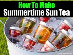 Sweet Summertime Sun Tea