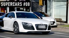 SUPERCARS #08 - Lamborghini Aventador, Audi R8 e outros carros esportivos acelerando!
