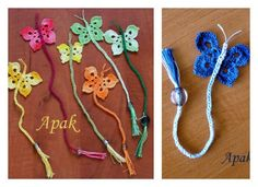 Love to crochet and read books? Why not make yourself pretty crochet bookmarks in cute designs. Here is the crochet butterfly bookmark with free pattern.