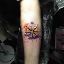Resultado de imagen para tatuajes flechas acuarela