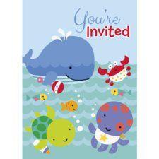 Under the Sea Pals Invitations (8 ct)