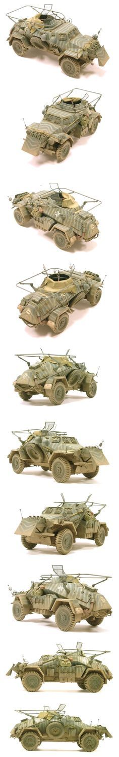 SdKfz 223 Scout Car 1:35 scale