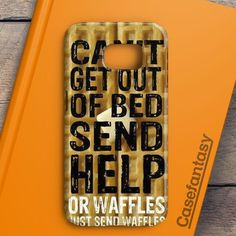 Super Cute Funny Waffle Pancake Food Samsung Galaxy S7 Case   casefantasy