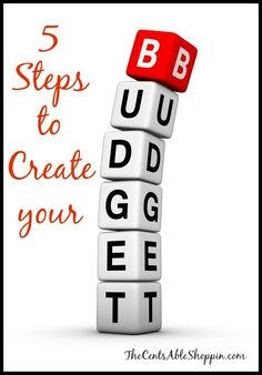 5 Steps to Create your Budget