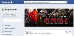 Facebook App Center ganha atualização com nova barra de buscas