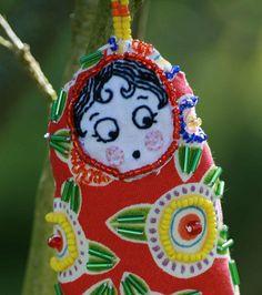 Dotee Doll by Hoola Tallulah, via Flickr