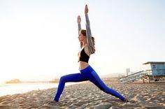 Yoga on the beach | the berry