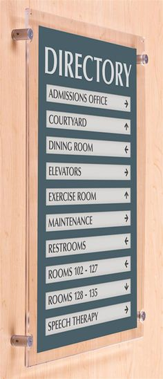 21 Best Building Directories Images Directory Signage
