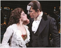 James Barbour and Julia Udine as The Phantom and Christine in The Phantom of the Opera on Broadway Broadway Tickets, Broadway Theatre, Musical Theatre, Broadway Shows, Theater Tickets, Opera Show, Much Music, New York Hotels, Phantom Of The Opera