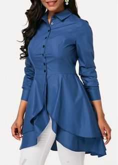 Stylish Tops For Girls, Trendy Tops, Trendy Fashion Tops, Trendy Tops For Women Kurta Designs, Kurti Designs Party Wear, Blouse Designs, Casual Skirt Outfits, Stylish Dresses, Fashion Dresses, Trendy Tops For Women, Blouses For Women, Women's Blouses