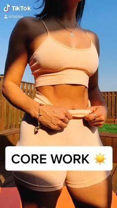 Fitness Workouts, Summer Body Workouts, Gym Workout Videos, Gym Workout For Beginners, Fitness Workout For Women, Butt Workout, Fitness Tips, Health Fitness, Core Workout Women