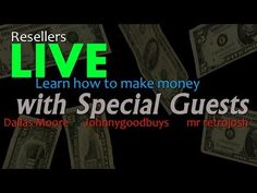 Streamed live on Oct 25, 2013 FRIDAY NIGHT PICKING | RESELLER MAKE MONEY HANGOUT Live Picker Talk Show featuring Dallas Moore, Johnnygoodbuy...