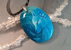 DeviantArt: More Collections Like Forest dragon hatchling by AlviaAlcedo Wolf Jewelry, Dragon Jewelry, Cute Jewelry, Glow Party Food, Wolf Necklace, Resin Necklace, Magical Jewelry, Cute Dragons, Pendant Design