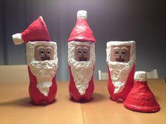 EINMALig Samichlaus aus PET-Flasche Vase, Bottle, Home Decor, Diy, Creative, Homemade Home Decor, Flask, Flower Vases, Jars