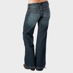 Stetson Women's 214 Fit City Dark Indigo Trouser Jeans Med Wash 16 R BUY NOW     $52.53    Women's trouser jeans by Stetson feature their stylish 214 cut. The low-rise jeans deliver a regular fit through the hip and thigh that finishes in a slightly flared  ..