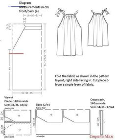 Source by clothes sewing Dress Sewing Patterns, Sewing Patterns Free, Sewing Tutorials, Clothing Patterns, Pillowcase Dress Pattern, Pillowcase Dresses, Skirt Patterns, Dress Tutorials, Blouse Patterns