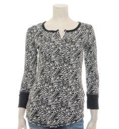 Maison Scotch dubbeldoek shirt met ingeweven animaldessin - NummerZestien.eu
