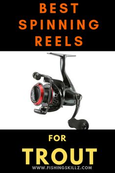 Use these spinning reels the next time you go trout fishing. You won't regret having a fishing reel designed specifically for trout. Trout Fishing Rods, Walleye Fishing, Carp Fishing, Fishing Reels, Fishing Tips, Fishing Knots, Fishing Tackle, Fishing Stuff, Saltwater Fishing