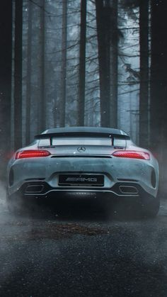 The Fabulous AMG with Dangerous white look Car Iphone Wallpaper, Sports Car Wallpaper, Car Wallpapers, My Dream Car, Dream Cars, Mercedes Benz Wallpaper, Mercedes Amg Gt R, Top Luxury Cars, Exotic Sports Cars