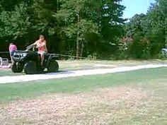 Funny Redneck 4 Wheeler Slip n Slide 7 of 8 Funny Redneck, Slip N Slide, Youtube, Youtubers, Youtube Movies