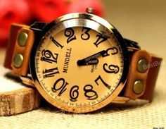 Women Wristwatches Unisex Leather W..