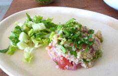 "Receta: Ensalada de #Quinoa o ""Quinua Recipe: Quinoa Salad"