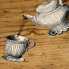 Teapot/Teacup. Cute design. Maybe for tattoo
