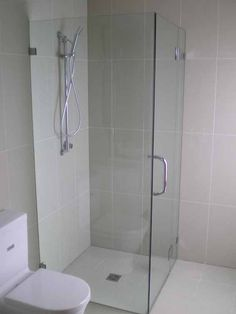 White Bathroom Co Willoughby shower screens - vanites- mirrors- glass - frameless hinged showers