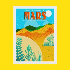 Mars Screen Print Mesh Screen, Flora And Fauna, The Martian, One Color, The Expanse, Cosmos, Screen Printing, Planets, Ink