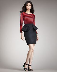 Ellsworth Combo Dress by MARC by Marc Jacobs at Bergdorf Goodman.