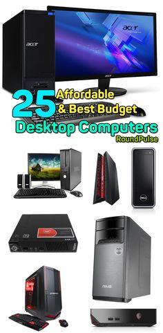 25 Cheap & Best Budget Desktop Computers  #computers #desktoppc #cpu #pc