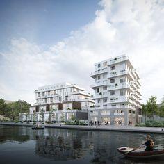 Immeubles de logements ZAC du Port | Atelier Zündel Cristea