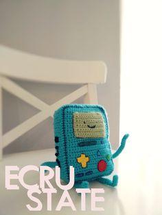 #ecrustate #adventure #time #crochet #bmo #beemo #character #cute #toy #fun