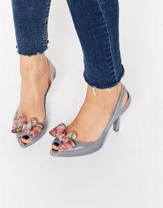 a3af5d31abaf Vivienne Westwood for Melissa Lady Dragon Bow Heeled Sandals