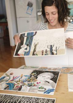 podcast interview with illustrator Felicita Sala // museradio.org