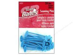 Yarn & Needlework: Susan Bates Seaming Pins 24 pc.
