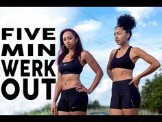 Do This In The Morning Every Day - The Five Minute Total Body Workout - Urban Gyal
