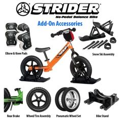 0b4924e9958b Strider Bikes Fly Racing Strider Bike  strider  bike  balance  kid  fun   snow  snowmobile  black  orange  green  red  yellow  pink  www.firstplaceparts.com